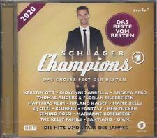 SCHLAGER CHAMPIONS 2020 * CD COMPILATION * NEU * DIVERSE INTERPRETEN / VARIOUS