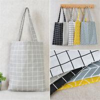 Canvas Shopping Handbag Shoulder Tote Satchel Messenger Eco Bag Square Star bags