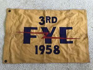 1958 FLORIDA YACHT CLUB Vintage Sailing Flag