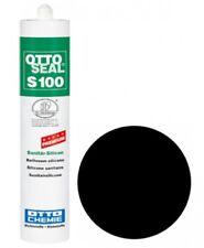 (30,30€/1l) OTTOSEAL® S100 Premium-Sanitär-Silicon 300 ml - Schwarz C04
