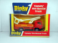 444 DINKY TOYS ORIGINAL 384 CONVOY FIRE RESCUE TRUCK CAMION BOMBEROS MECCANO
