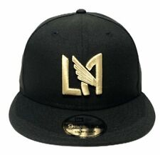LAFC Team Color Black New Era 9Fifty Snapback