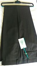 TED Baker London 32R Slim Fit Grigio Da Uomo Pantaloni Formali