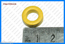 T-13 IronDust Core (Yellow) for HAM Radio,Electronics Project,Transmitters-10 Pc