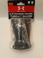 Under Armour Black Catching Mask Throat Guard - Youth