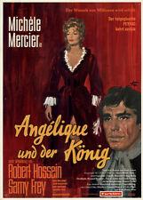 Angelique und der König ORIGINAL DIN A1 Kinoplakat Michele Mercier / R. Hossein