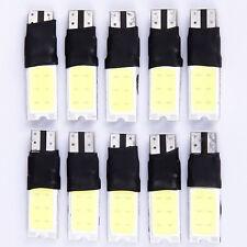 10Pcs T10 W5W 501 ERROR FREE CANBUS XENON WHITE CAR SIDE LIGHT BULB SMD LED COB
