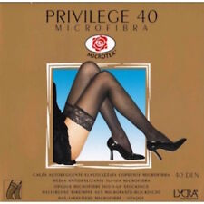 Omsa Privilege 40 Thigh Highs Color Marrone (Brown)8 Size I - II (XS-S) 0009 -07