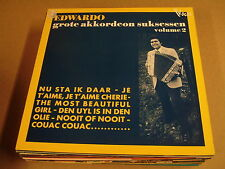 ACCORDEON LP / EDWARDO - GROTE AKKORDEON SUKSESSEN VOLUME 2
