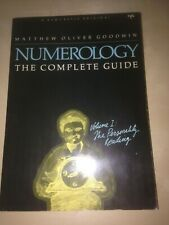 Numerology The Complete Guide Volume 1 Matthew Goodwin