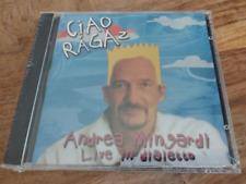 ANDREA MINGARDI Ciao Ragaz CD LUCIO DALLA LUCA CARBONI MORANDI GUCCINI BERSANI