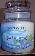 Yankee Candle Swirl Spa Getaway Lot of 2    FREE SHIPPING VHTF Discontinued