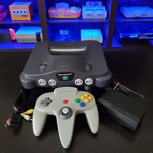 Nintendo 64 N64 Console (Region Free) Plays U.S and Japanese Games