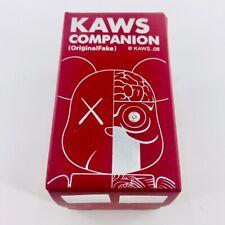 Rare* OriginalFake KAWS Companion Dissected RED MEDICOM BEARBRICK Be@rBrick