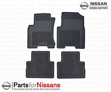 Genuine Nissan 2008-2013 Rogue All Season Weather Rubber Floor Mats NEW OEM