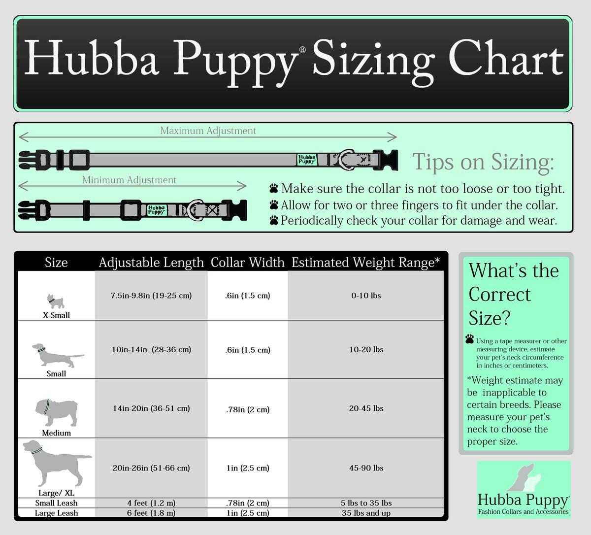 Hubba Puppy Pet Collars