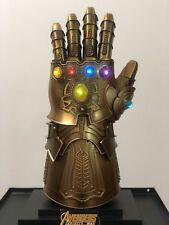 1:1 Thanos Infinity Gauntlet Cosplay Infinity Stones Shining Metal Wearable