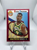 1991 Fleer Basketball Gary Payton 9 Seattle SuperSonics Hall Of Fame HOF Rookie