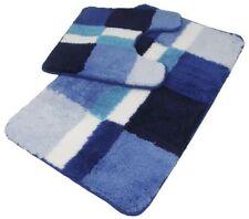 Sets d'accessoires Tapis de bain bleu pour la salle de bain