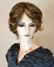 "1/3 bjd 9-10"" doll head 2 color mixed synthetic mohair wig Soom Taeyan W-177XL"