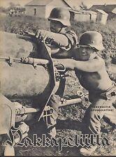 Finland Wartime Magazine Hakkapeliitta 1943 #37 - German Smoke Generator