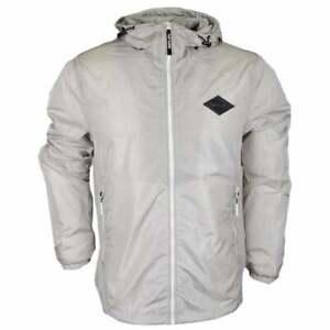 Replay Nylon Hooded Light Grey Jacket