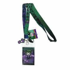 DC Comics The Joker Lanyard With Soft Touch Dangle
