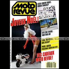 MOTO REVUE N°2826 HONDA 600 TRANSALP GUZZI NTX 650 YAMAHA XT TENERE 250 TDR 1987