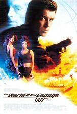 World Is Not Enough - original movie poster - 27x40 FINAL - James Bond