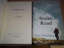 Snake Road - Sue Peebles **Signed 1st/1st** + Bag & Bookmark