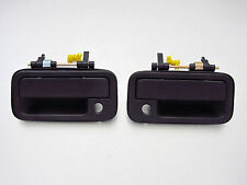 89-94 Isuzu TF TFR Amico PU Rodeo Pair black outer door handle pickup truck