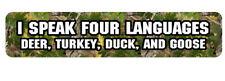 hunting decal goose duck deer turkey elk bear HPD-hunt1