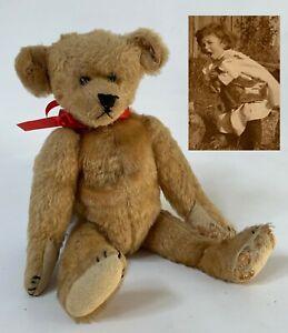 RARE 1906 IDEAL NOVELTY & TOY Co TEDDY BEAR in Good Original Condition