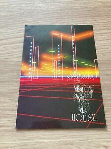 Amnesia House - Fox's - 1991 Rave Flyer / Acid House / Club - DJ Carl Cox, N-Joi