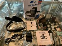 RUNTASTIC (D021280) GPS WATCH & HEART RATE MONITOR IN BOX - AU STOCK !