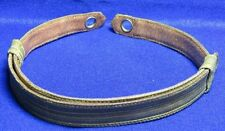 WWII Navy Naval Officer Gold Bullion Hat Strap