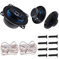 2x Car Speakers 4 Inch 100W 3 Way Auto Stereo Audio Music Full Range Frequency