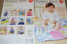 REd Heart Baby Knitting & Crochet Pattern Book 11 designs
