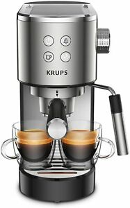 Krups Virtuoso XP442C Coffee Maker Espresso, Compact Design And Elegant, 1.1 L