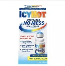 IcyHot with No Mess Applicator - 2 oz (5 pack)