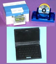 Miniature CD DVD Blue-ray Player Laptop Clock Disk MOC - MADE OF LEGO BRICKS