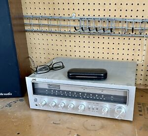 JVC R-S5 Vintage Receiver Stereo AMP Silver Sounds Great! Buy Now! $75.00!