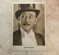 Russia USSR Postcard actor Adolf Mehju 1929