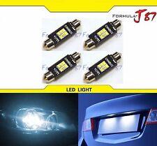 LED Light Canbus Error Free 211-2 White 6000K Four Bulbs Dome Map Step Festoon
