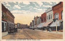 Benton Harbor Michigan~Pipestone Street N~Miller Furniture~Sandwich Sign~1921 PC
