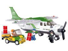 Juego de construccion bloques Sluban Aviation avion comercial carga 251 piezas