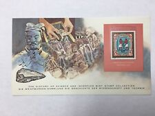 The History of Science and Invention Mint Stamp Collection Archeology Stamp
