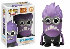 FUNKO POP MOVIES DESPICABLE ME 2 #37 EVIL MINION~RARE VINYL FIGURE~FAST POST 🌈