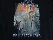 HOUR OF PENANCE Paradogma rare heavy metal concert tour T shirt Men's 3XL