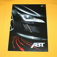 Abt R8 2008 Prospekt Brochure Depliant Catalog Folder Broschyr Prospetto Audi